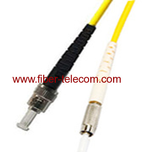 DIN-ST Single Mode Simplex Fiber Optic Patch Cord