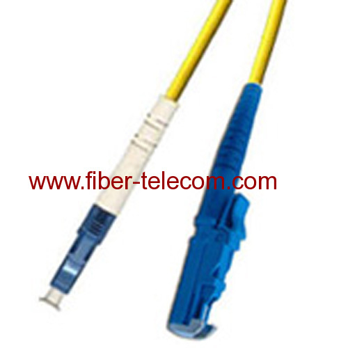 E2000-LC Single Mode Simplex Fiber Optic Patch Cord