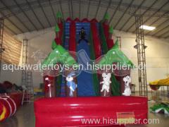 Stimulating Cliff Hanger Inflatable slide