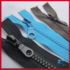 Plastic zipper Resin zipper Open-end
