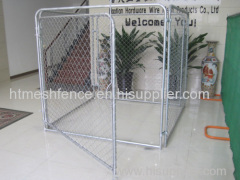 Iron Fence Dog Kennel chain link dog kennel panels