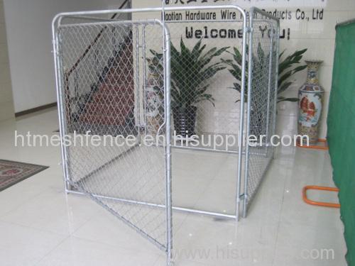 Железный забор звено цепи питомник собак питомник собак панелей