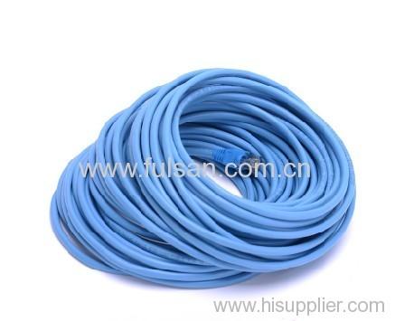 Outdoor FTP Cat5e Patch Cord with stranded copper conductor