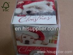 Cute Handmade greeting Christmas cards printing