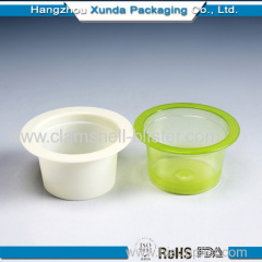 Whole sale plastic mashed potato cups