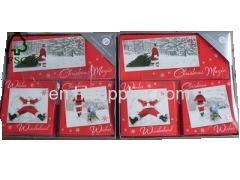 Handmade Triple Pack Greetings Christmas Card