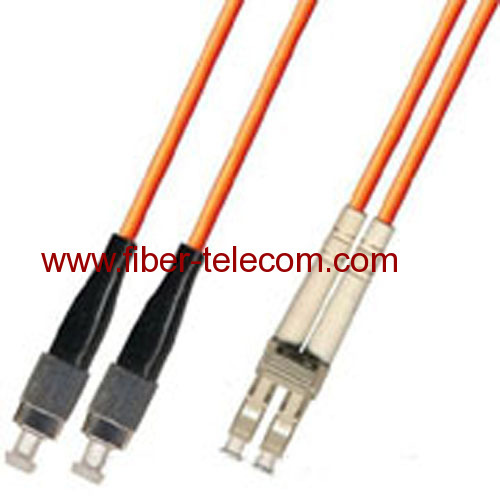 FC-LC Multi mode Duplex Fiber Optic Patch Cord