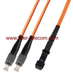 MM Patch Cord with FC to MTRJ Connector