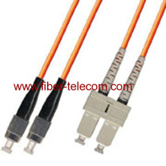 MM Patch Lead with FC to SC Connector