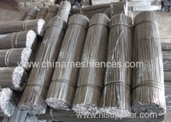 Straightened galvanized Cut Wire
