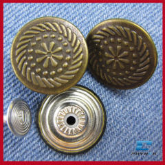 shank metal button for jacket