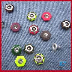 decorative buttons for jean rivet