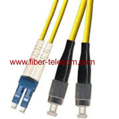 FC-LC Duplex Single-Mode Glasfaser-Patchkabel
