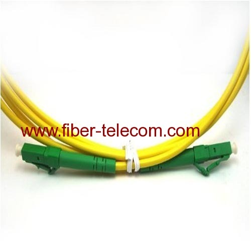LC to LC Singlemode Simplex Fiber Optical Patch Cable 1M