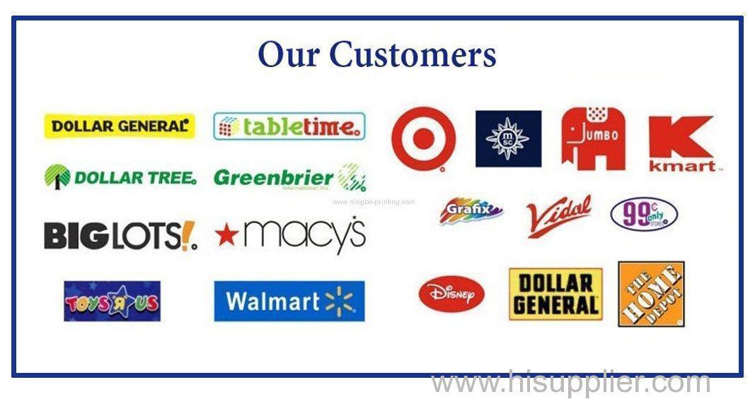 Customers list