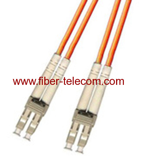LC-LC Multi Mode Duplex Fiber Optic Patch Cord