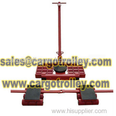 Machinery mover applications and specifications