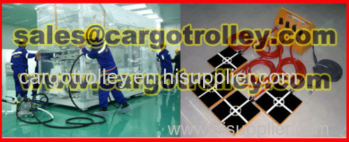 Air powered moving equipment suitable for clean room