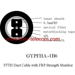 1fiber outdoor duct cable