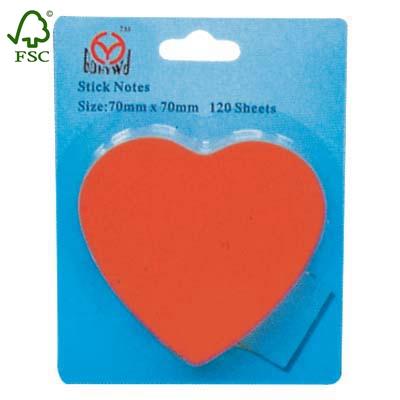 blister card sticky notes pads