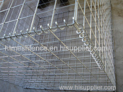 Zinc-plating welded gabion cage weld mesh gabions