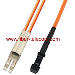 MM Patch Cable with LC to MTRJ Connector