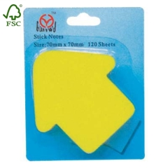 Die-cut Post-it sticky notes pads