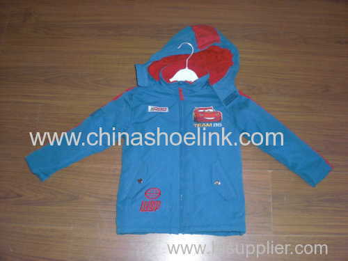 China kids jacket factory