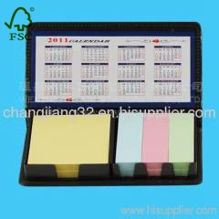 business post-it in Leather Box