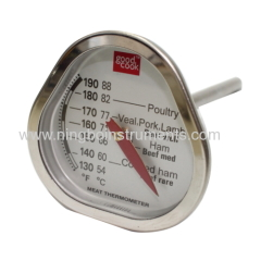 Cooking thermometer; triangle cooking thermometer