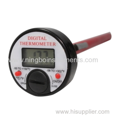 Digital kitchen thermometer; cooking thermometer