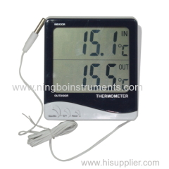 digital indoor & outdoor thermometer