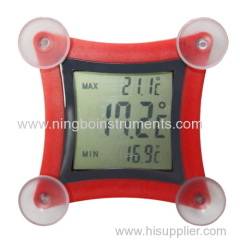 china window thermometer