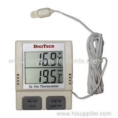 digital indoor &outdoor thermometer