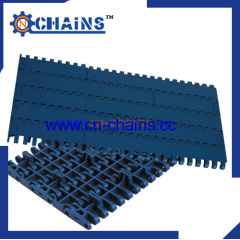 Slat Top plastic Modular Conveyor Belt with positrack