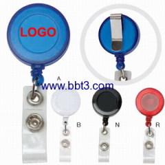 name badge clip holder