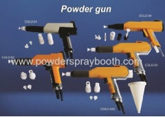 manual powder coating spraying gun