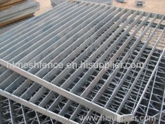 Serrated Steel Grating Galvanized Steel Bar Grating