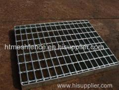 Galvanized steel bar grates serrated steel grating