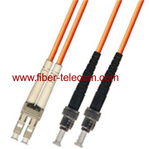 LC-ST Multi Mode Duplex Fiber Optic Patch Cord