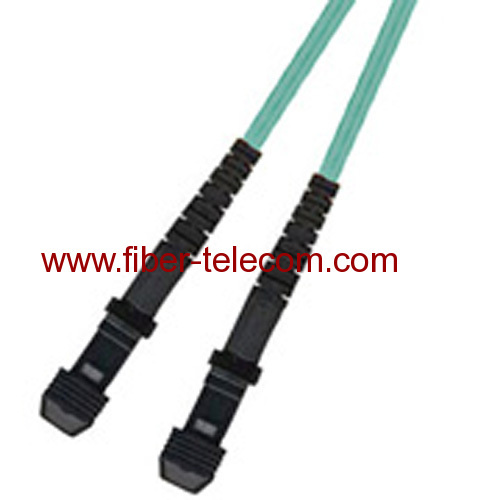 MTRJ-MTRJ Multi Mode OM3 Simplex Fiber Optic Patch Cord