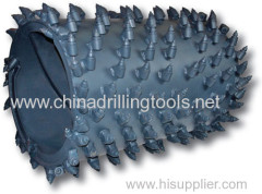round shank carbide tip Construction Drilling Bits