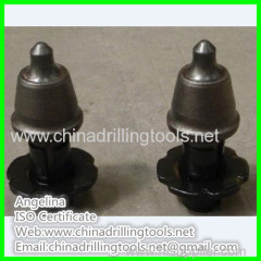 round shank conical road carbide bits