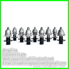 round shank tungsten carbide road planing tools