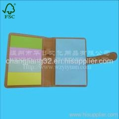 PU sticky notebook set