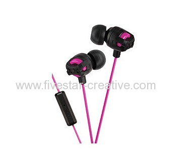 JVC Xtreme Xplosives Earbuds with Remote&Mic Pink HAFR201 for iPhone iPod iPad BlackBerry Android