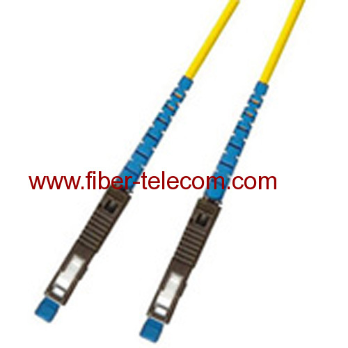 MU-MU Single mode Simplex Fiber Optic Patch Cord
