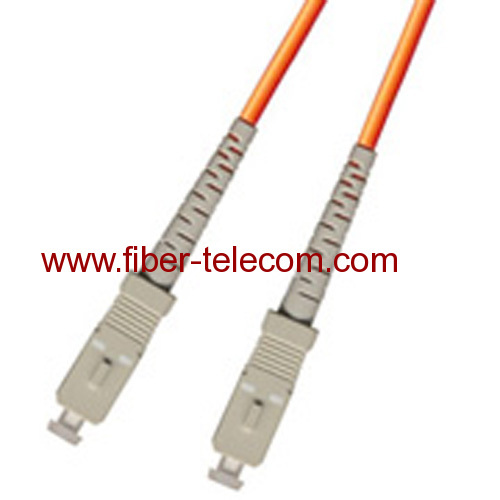 SC-SC Multi mode Simplex Fiber Optic Patch Cord