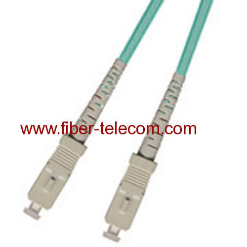 SC-SC Multi mode OM3 Simplex Fiber Optic Patch Cord