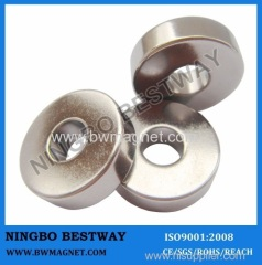 NdFeB Magnet Rings N45 Ni plated